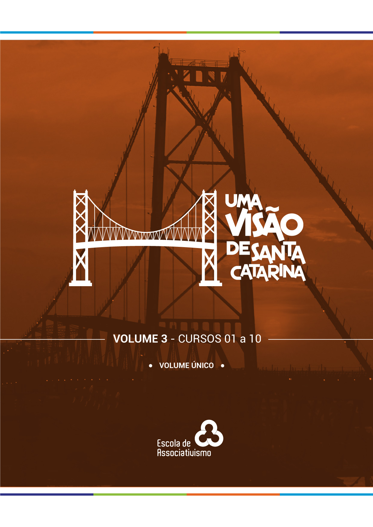 Capa da Cartilha Uma Visão de Santa Catarina